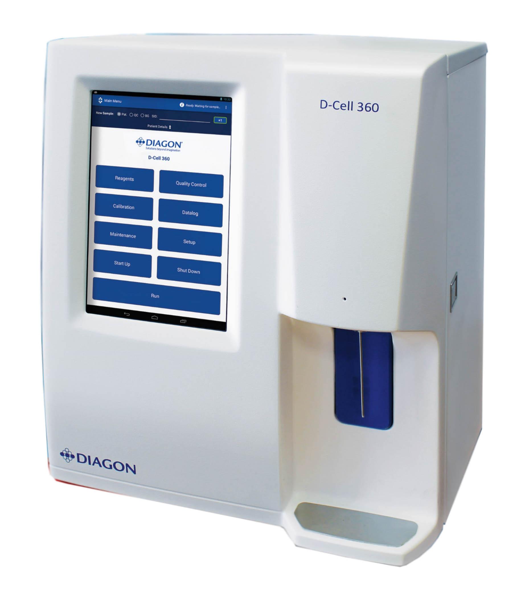 Máy phân tích huyết học Dcell 360