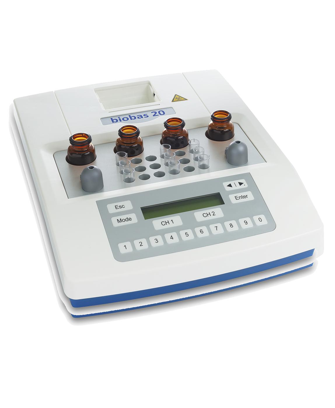 Máy phân tích đông máu bán tự động Biobas 20