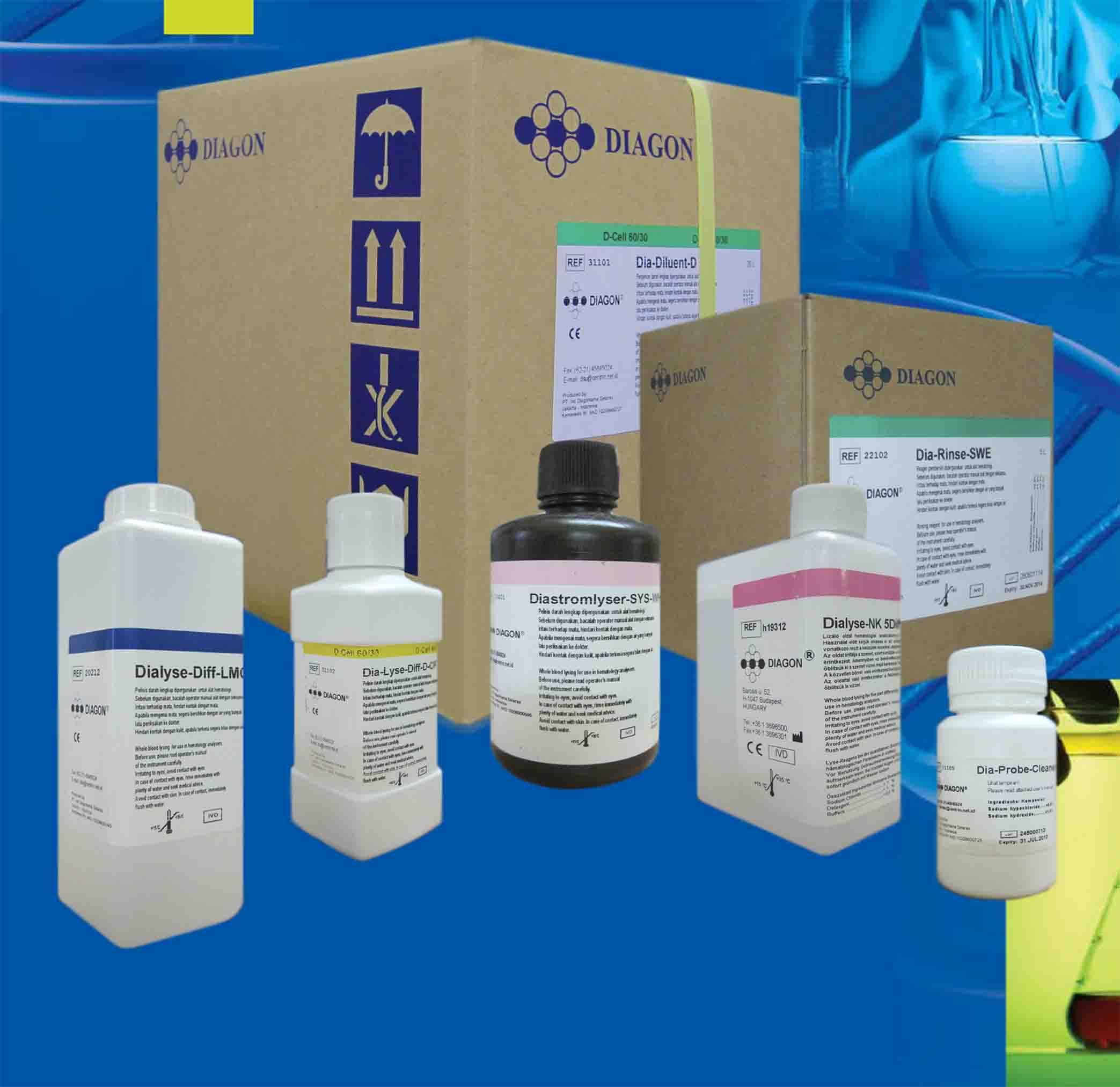 Hóa chất huyết học Sysmex